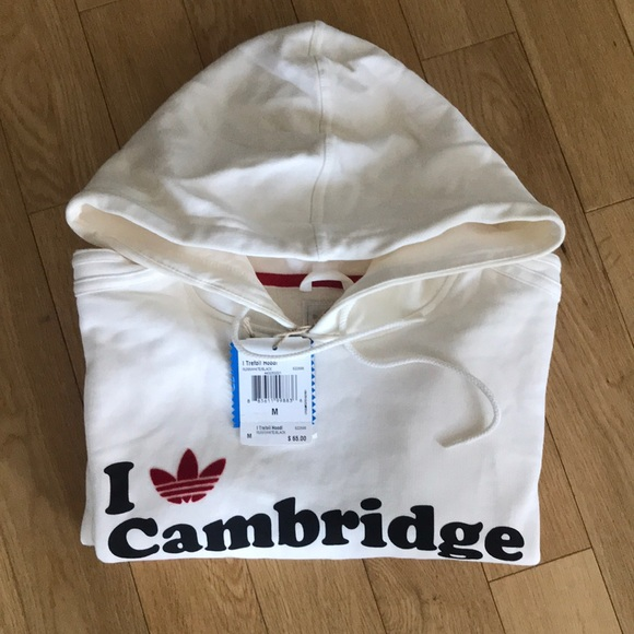 50% price detailed look cheap for discount NWT Adidas Trefoil Hoodie I ❤️ Cambridge Medium NWT